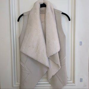 BlankNYC Faux Fur / Faux Leather Vest